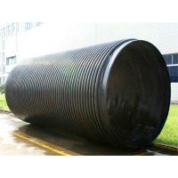 HDPE大口径缠绕管生产线双平壁缠绕管生产线