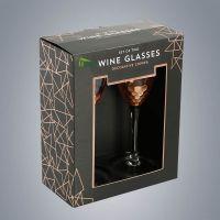 定制烫金logo印刷盒 红酒包装坑盒透明窗口折叠彩盒 瓦楞纸包装盒