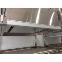 江阴港旺6063显示器支架型材拉丝氧化处理订做