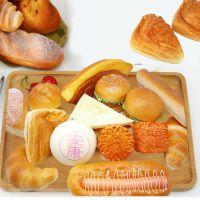 泰翔pu高仿真面包玩具点心装饰摆件 仿真假面包蛋糕模型组合批发