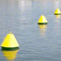 运河定点航标 塑料浮标 带灯锥形航标 一体式航标灯