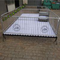 北安养殖仔猪使用保育床 双体复合小猪保育床价格