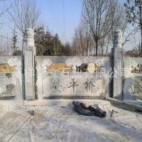 厂家批发河道浮雕栏杆 寺庙景区防护栏杆定做