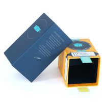 包装厂家专业茶叶包装盒设计定制生产 创意绿茶花茶礼盒彩盒