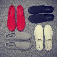 回天帆布鞋韩版潮流男士休闲鞋一脚蹬懒人鞋老北京布鞋1691