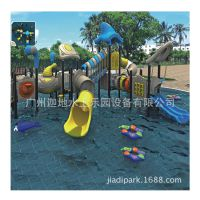 大型水屋水寨主题 儿童水上乐园设备 儿童组合滑滑梯 厂家直销
