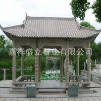 花岗岩八角亭子雕刻厂家 景区公园大型石头凉亭子