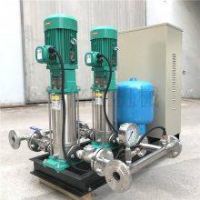 低区无负压供水泵组WILO威乐MVI1607/6-1/16/E/-3-380-50-2