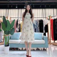 【依维妮】19夏大码女装高端时尚连衣裙品牌专柜正品折扣批发走份