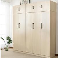 简约现代经济型衣柜组装二门三门四门北欧家用大容量收纳主卧衣柜