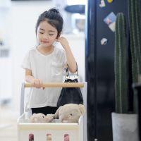 【小资妞】亲子定制女装童装奥代尔多色短袖T恤