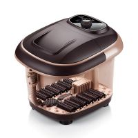 足浴盆全自动加热 洗脚盆足浴器 按摩泡脚机电动足疗家用深桶