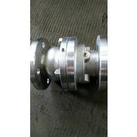 ZSGP碳钢法兰式管道式气动阀
