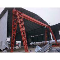 亳州南部新城安装龙门吊起重机宇起牌单梁行车