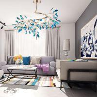北欧轻奢灯具简约创意卧室餐厅萤火虫玛瑙设计师风格后现代吊灯
