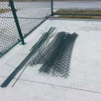 球场护栏网图片 球场铁丝网围栏 工地警示隔离网