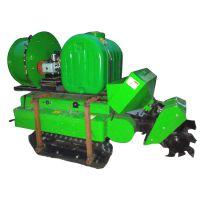自动掉头果园开沟机 高效混合搭配开沟机 单缸动力农用施肥机