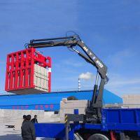 东风5吨6吨折臂装卸砖起重机 砖厂专用