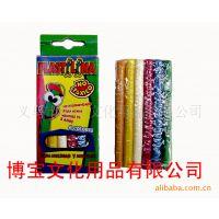 外贸出口橡胶泥俄语版6色油性彩盒装橡皮泥儿童益智玩具DIY彩泥