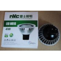 新品推广NVC雷士LED灯杯LED MR16B4W3000K暖光