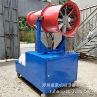 建筑工程降尘喷雾机 工地环保除尘雾炮机30米高压高射程喷雾机