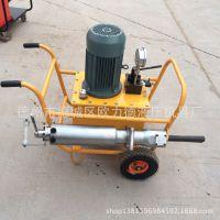 基中钢筋混凝地土土墩的拆除液压劈裂机|混凝土分裂机|电动劈裂器