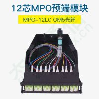 TARLUZ 12芯MPO预端模块内含1条进口MPO-12LCOM5光纤 TL12FCMMPO0M5
