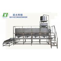 自动化生产效率高产量大的泡豆机|大型泡豆系统|宏大