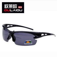 I3043偏光镜男士偏光太阳眼镜运动太阳镜偏光骑行眼镜山地车防沙