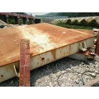 温州龙弯二手地磅100吨旧地磅出售