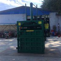 质量好的废纸打包机批发 普航立式油纸压包机 打包机厂家