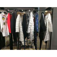 尾货服装批发女装批发一线品牌折扣店多种风格库存杂款包