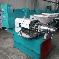 食用油加工设备 125型全自动榨油机 液压榨油机整套设备