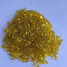 造景玻璃珠 玄光大量供应黄色玻璃珠 彩色珠子
