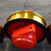 亚重700×160双边铸钢锻造车轮组 双梁大车车轮组 卸船机造船机轮组 质保一年