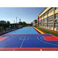 广西 4mm硅pu学校室外篮球场 水性绿色环保