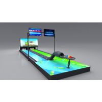 德安诚模拟保龄球设备 虚拟保龄球 投影保龄球 数字科技体育体验