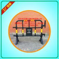 1400x1000mm胶马护栏、胶马护栏厂家、黄黑塑料护 栏价格