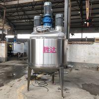胜达sd-ytjbg电动加热不锈钢反应锅夹套加热反应釜双层保温配料罐