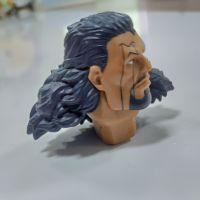 越南凹凸面玩具头像高落差打印机