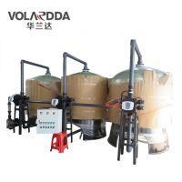 钦州造纸厂污水处理后端用多介质机械过滤器 华兰达污水净化循环使用系统