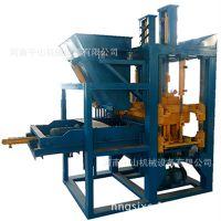批发大型空心液压免烧砖机 静压水泥砌块砖机 全套设备厂家直销