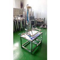 白酒催陈过滤机 白酒膜过滤设备 白酒净化器 5吨白酒过滤机