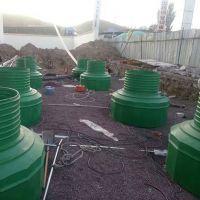 加油站绿色地下密闭防水井系统配套设备检查操作人孔井 河北华强
