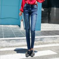 网站批发便宜秋冬牛仔裤工厂处理一手货源低价韩版牛仔裤5-10元批发