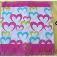 活性印花美容会所儿童学校纯棉吸水礼品毛巾