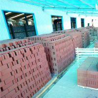 山东淄博烧结砖生产厂家/人行道砖/红灰色透水砖