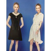 成都品牌折扣女装冬装外套相约四季双面尼品牌折扣店 连衣裙名媛多种款式
