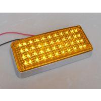 工程黄爆闪灯 方形黄色LED爆闪灯 清障车工程车配件 10-30V宽电压