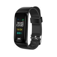 M5PLUS彩屏智能手环游泳防水男女运动计步手表多功能心率血压安卓苹果